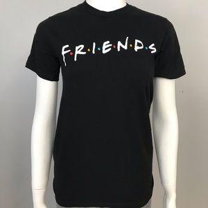 FRIENDS Black T Shirt XS